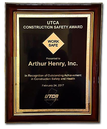 UTCA Safety Award